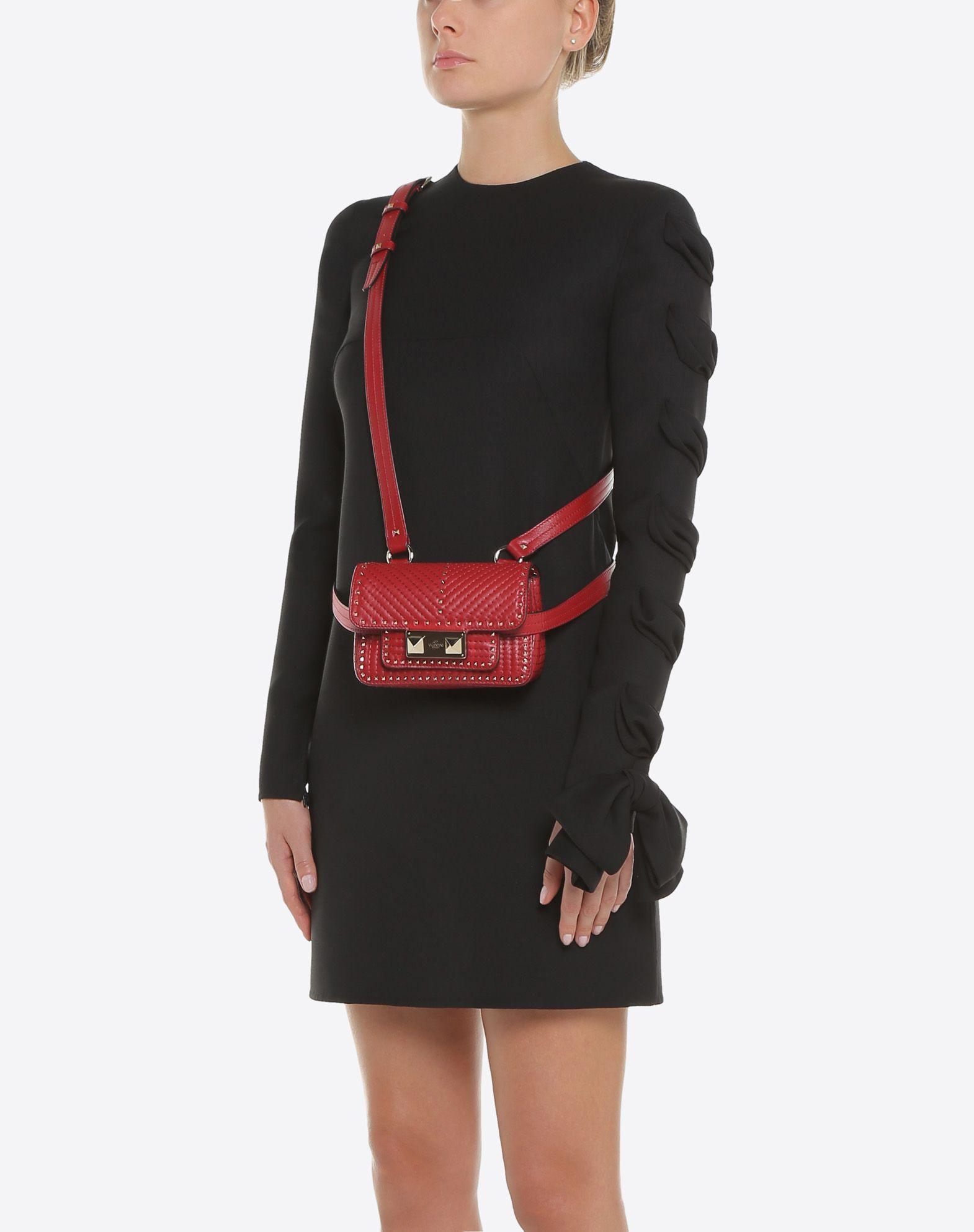 VALENTINO GARAVANI Mini Body Bag BUM BAG D a