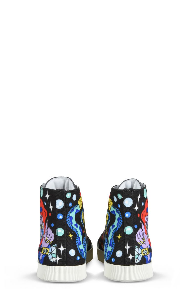 JUST CAVALLI Graffiti Sneakers Sneakers Man d