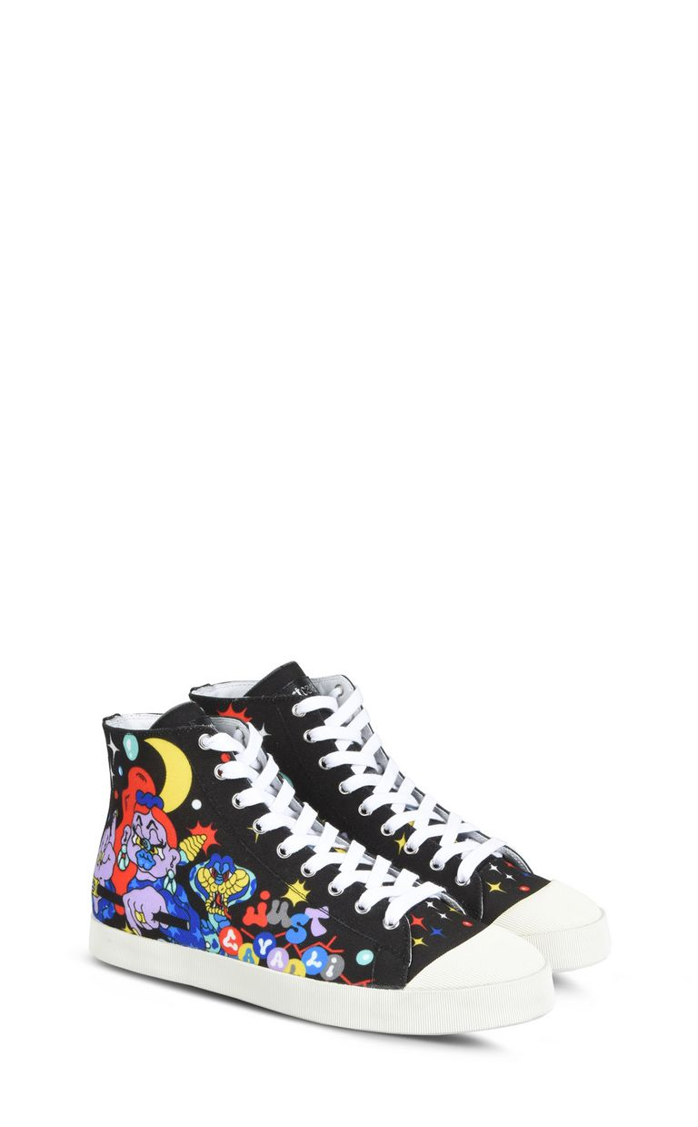 JUST CAVALLI Graffiti Sneakers Sneakers Man r