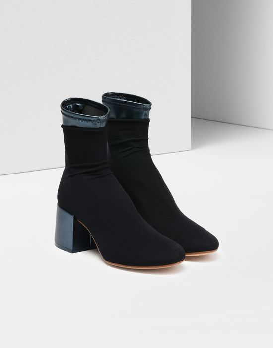 MM6 MAISON MARGIELA Flare sock boots Cheap Sale Clearance Store Cheap Marketable Eastbay For Sale Clearance Online Official Site ipbnAl