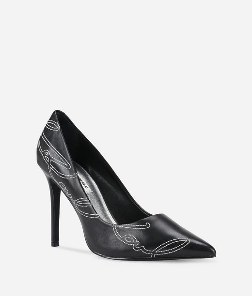 KARL LAGERFELD Manoir Hi Karl Signature Pumps 12_f