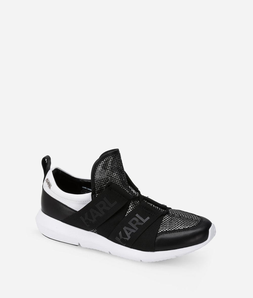 KARL LAGERFELD VITESSE Legere Strap Mesh Running Shoe  Sneakers Woman f