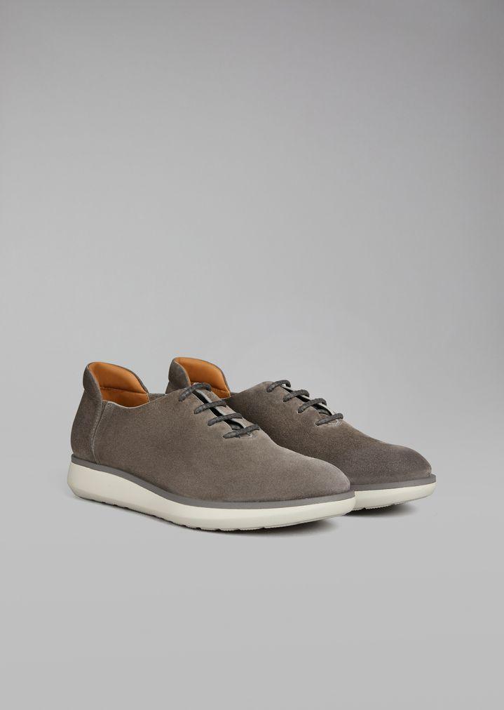 ... GIORGIO ARMANI Zapatos con cordones de ante Zapato de cordones Hombre r  ...