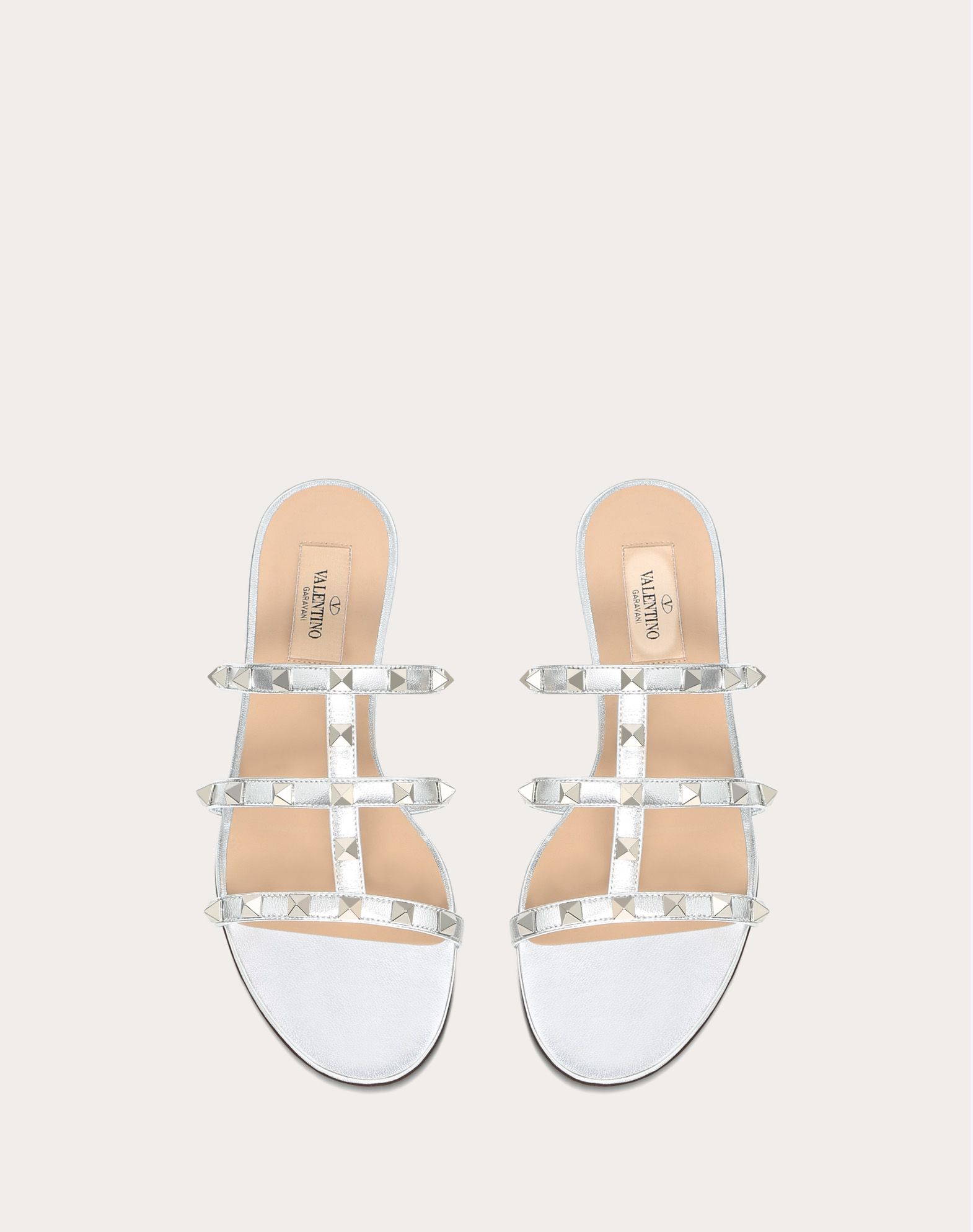 VALENTINO Laminated effect Studs Solid colour  11449600ep