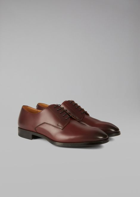 Brushed Leather Derby