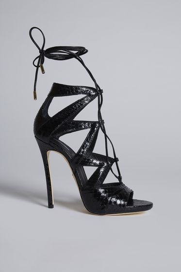 DSQUARED2 High-heeled sandals Woman HSW001224900469M069 b