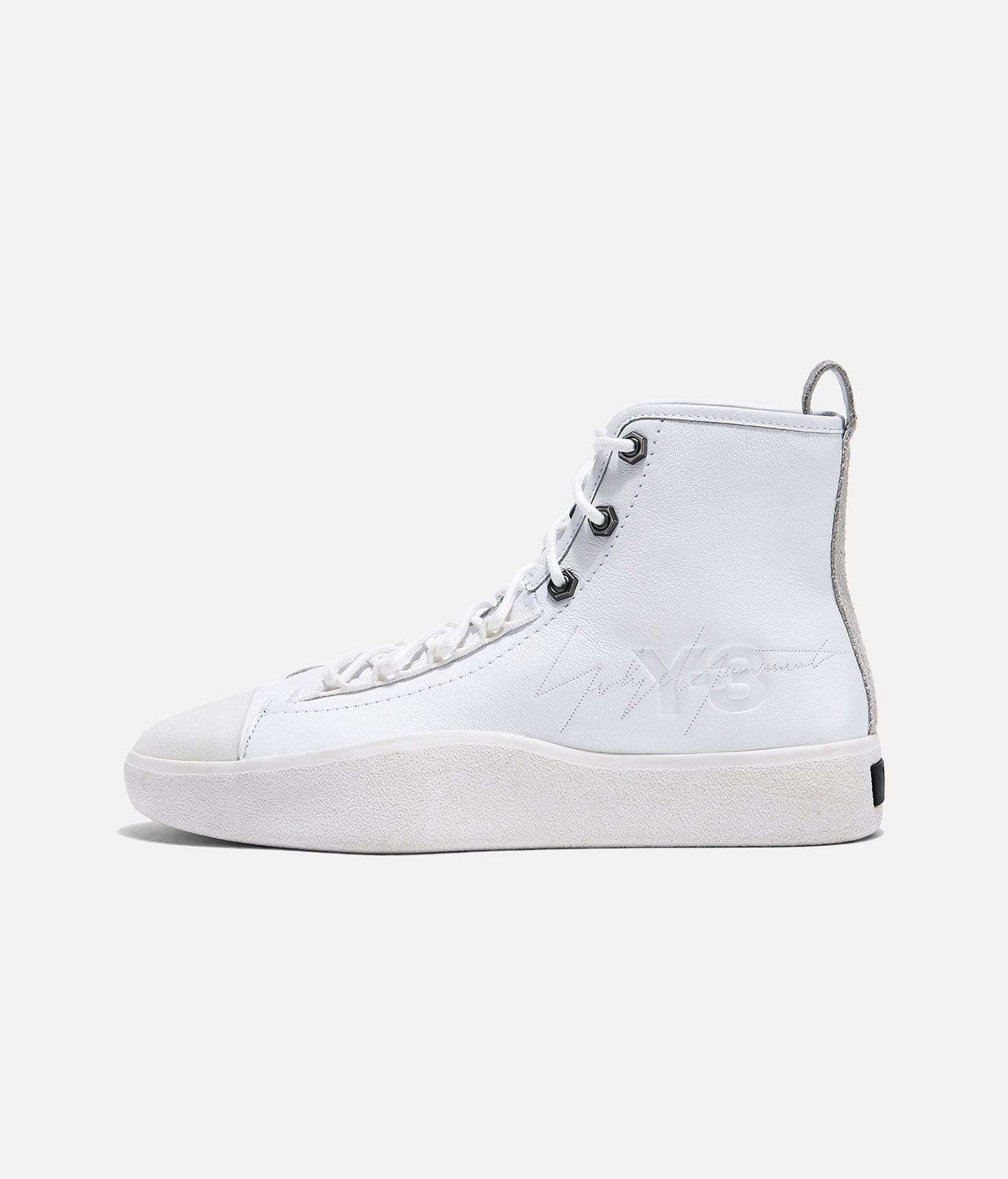 2ac8c1263cddf ... Y-3 Y-3 Bashyo II High-top sneakers E f ...