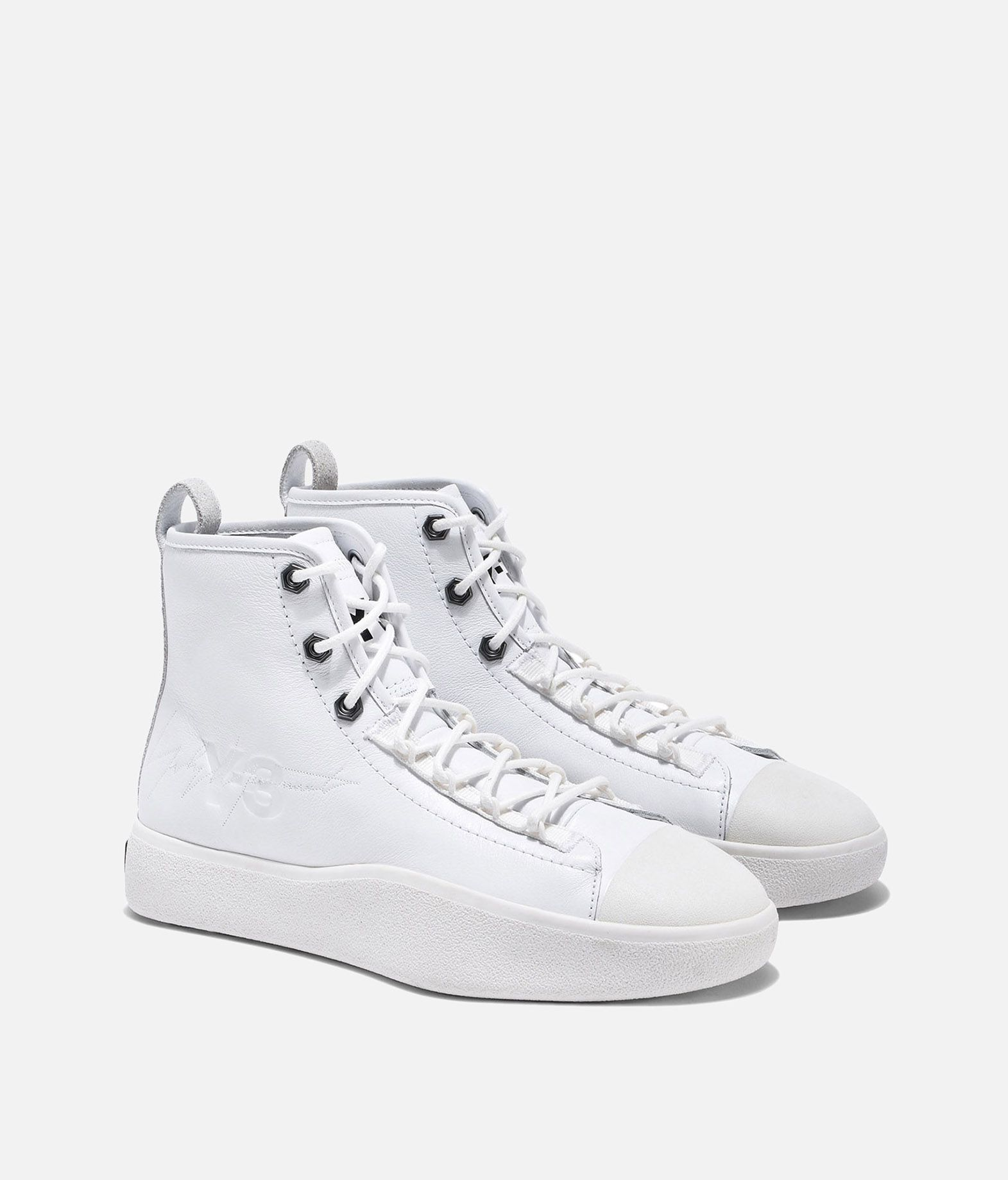 1c9409de6dc92 ... Y-3 Y-3 Bashyo II High-top sneakers E r ...