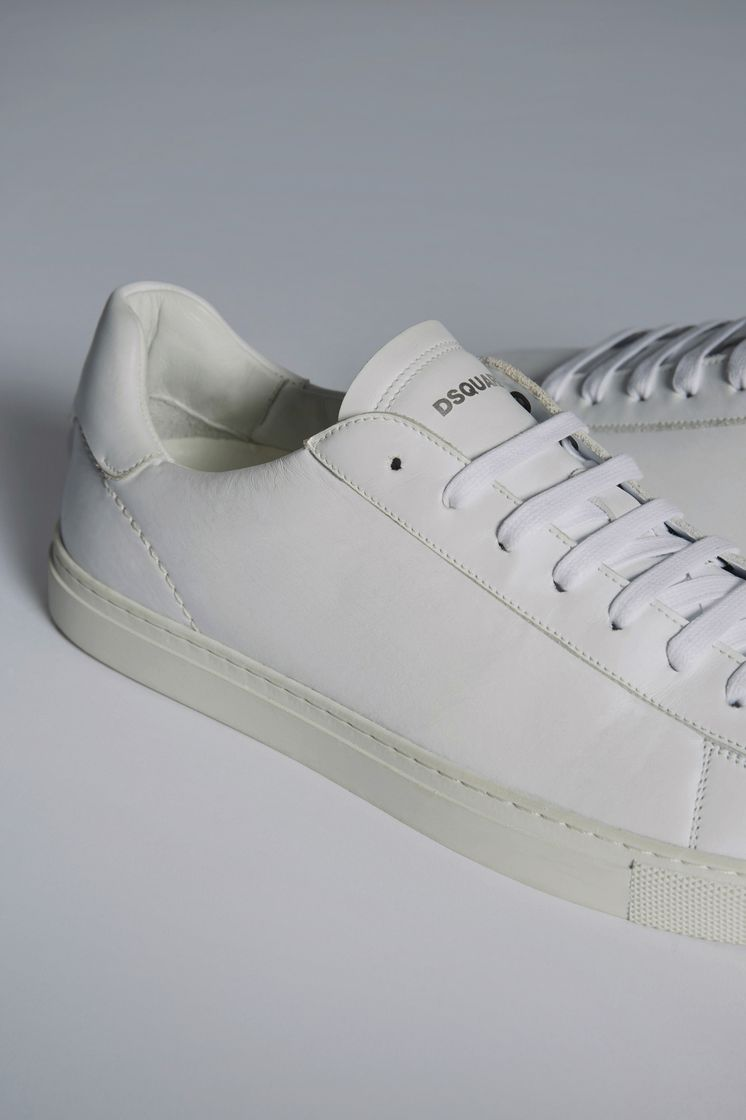 Dsquared2 New Tennis Sneakers White - Sneakers for ... 1d4e622113e