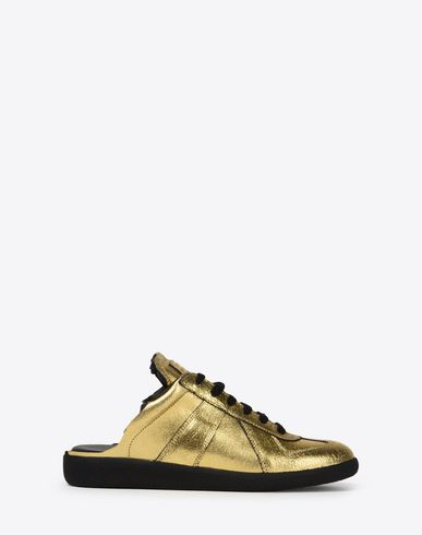 MAISON MARGIELA Sneakers Woman Calfskin 'Replica' mules f