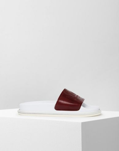 MM6 MAISON MARGIELA Sandals Woman Leather slip-ons f