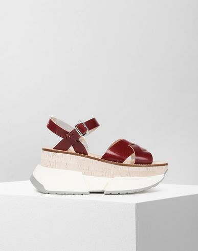 MM6 MAISON MARGIELA Sandals Woman Platform sneaker-sandals f
