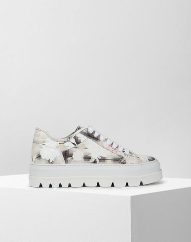 MM6 MAISON MARGIELA Sneakers Woman Geometric print sneakers f