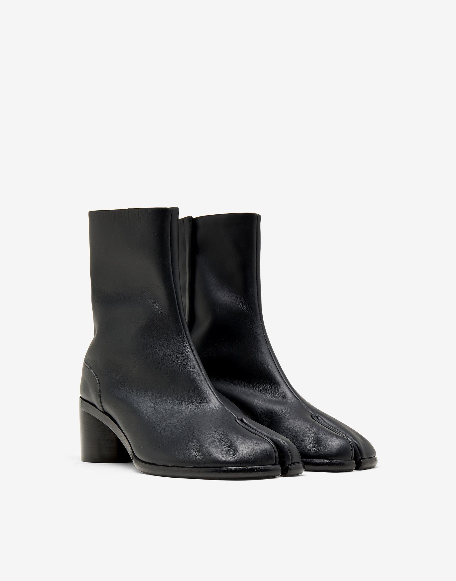 MAISON MARGIELA Painted calfskin Tabi boots Tabi boots Man r