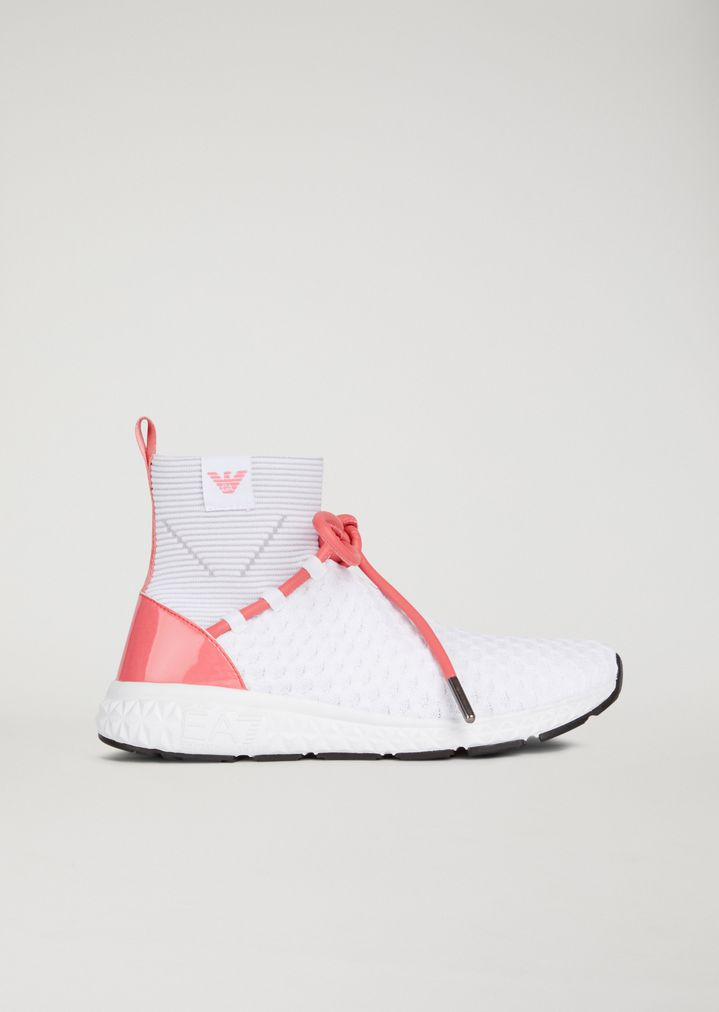 8b8ff3a442 Sock sneakers with laces