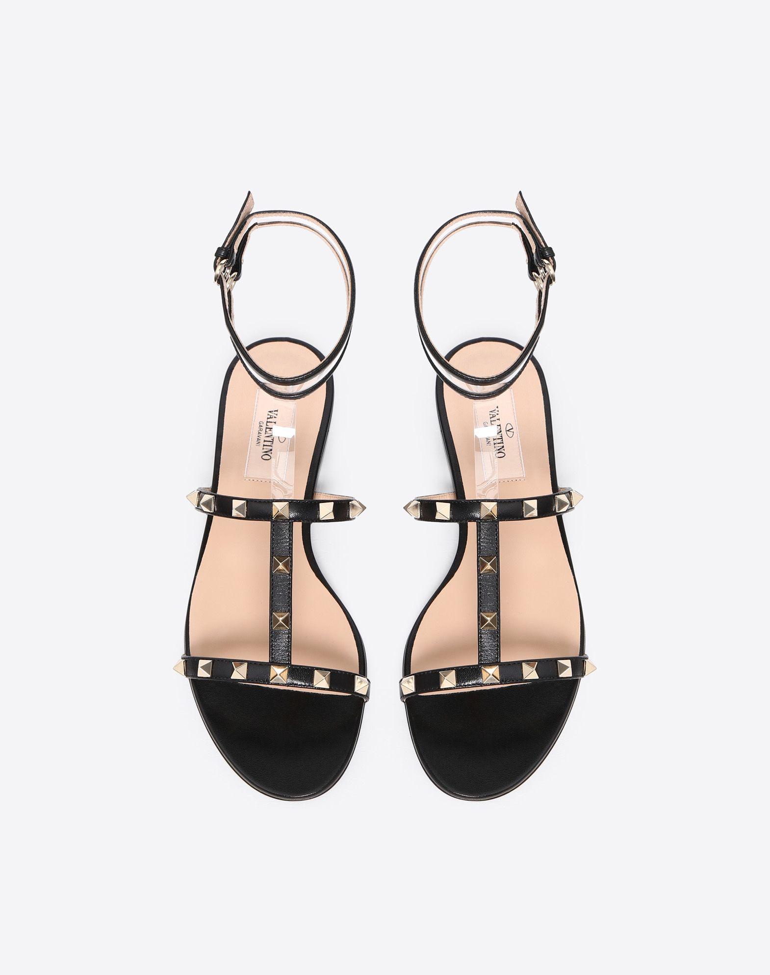 VALENTINO GARAVANI See-through flat sandal FLAT SANDALS D e
