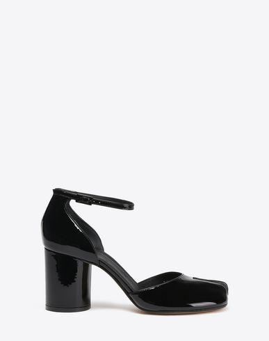 MAISON MARGIELA Patent leather Tabi pumps Sandals Woman f