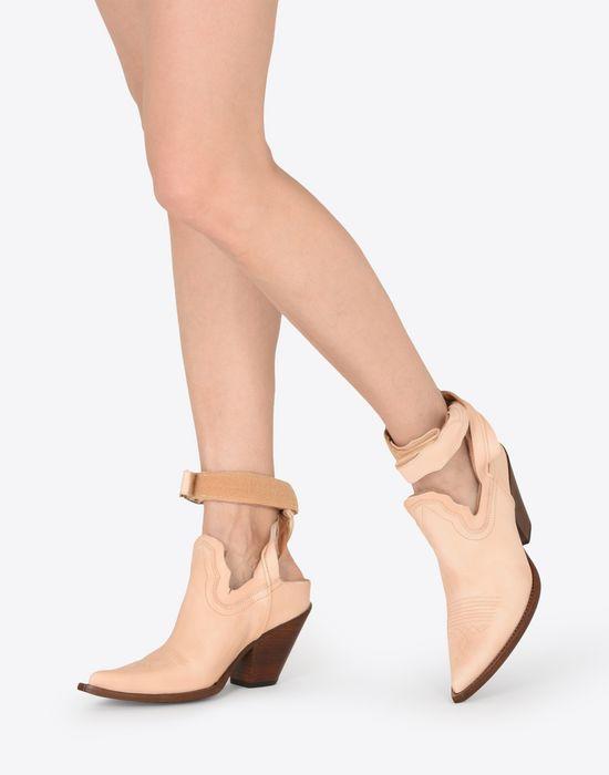 305651377e8 Maison Margiela Cut Out Suede Cowboy Boots Women   Maison Margiela Store