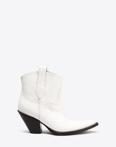 MAISON MARGIELA Bottines Femme Bottines de cow-boy en cuir de veau f