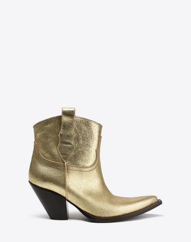MAISON MARGIELA Bottines Femme Bottines de cow-boy bleues f