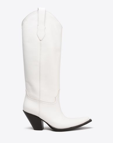 MAISON MARGIELA Knee-high cowboy boots Boots Woman f
