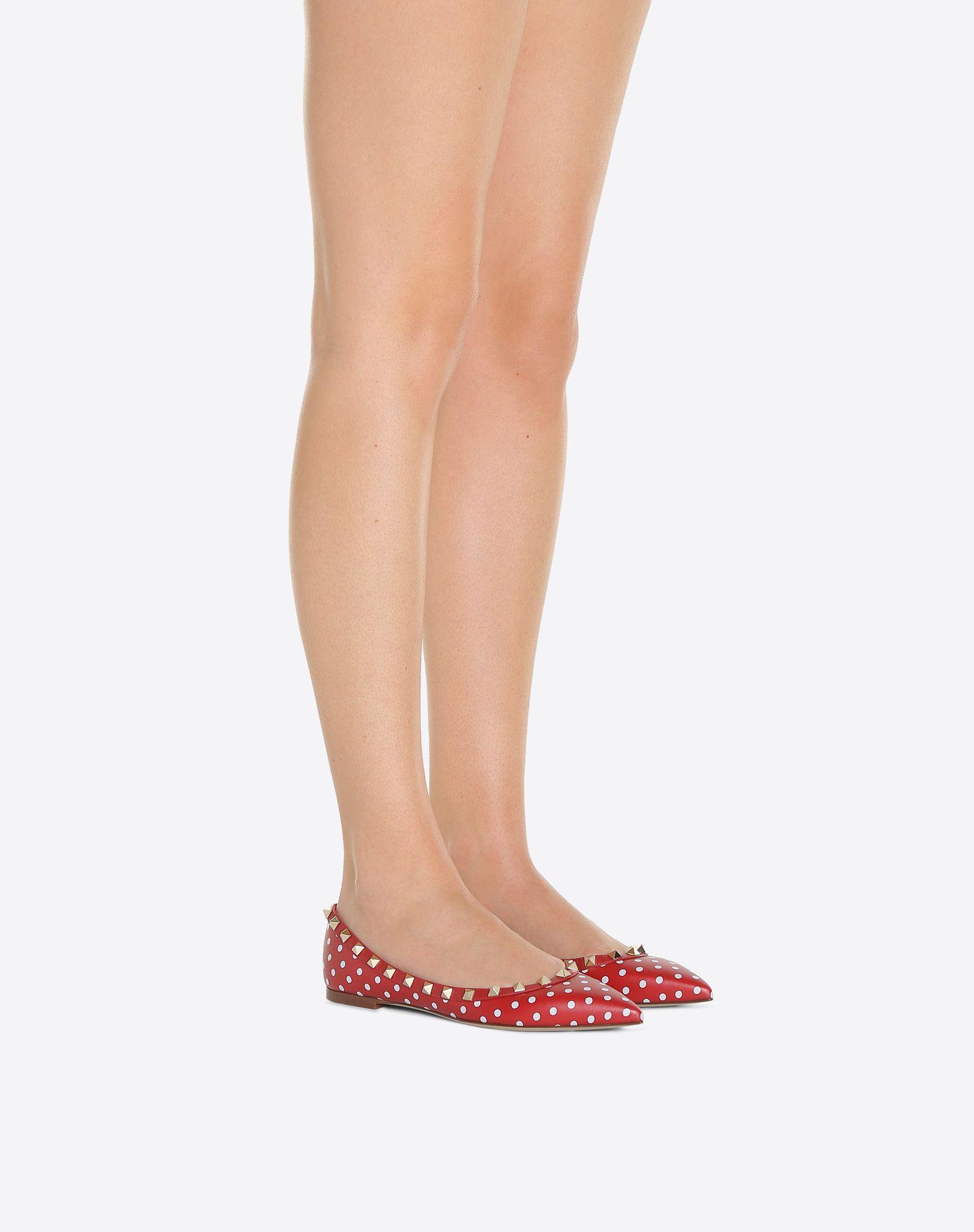 VALENTINO GARAVANI QW1S0403VVG0JU 芭蕾鞋 D a