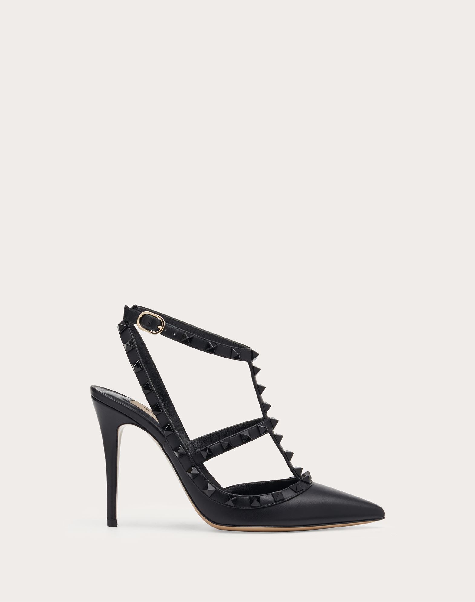 VALENTINO GARAVANI Rockstud Court HIGH HEEL PUMPS D f