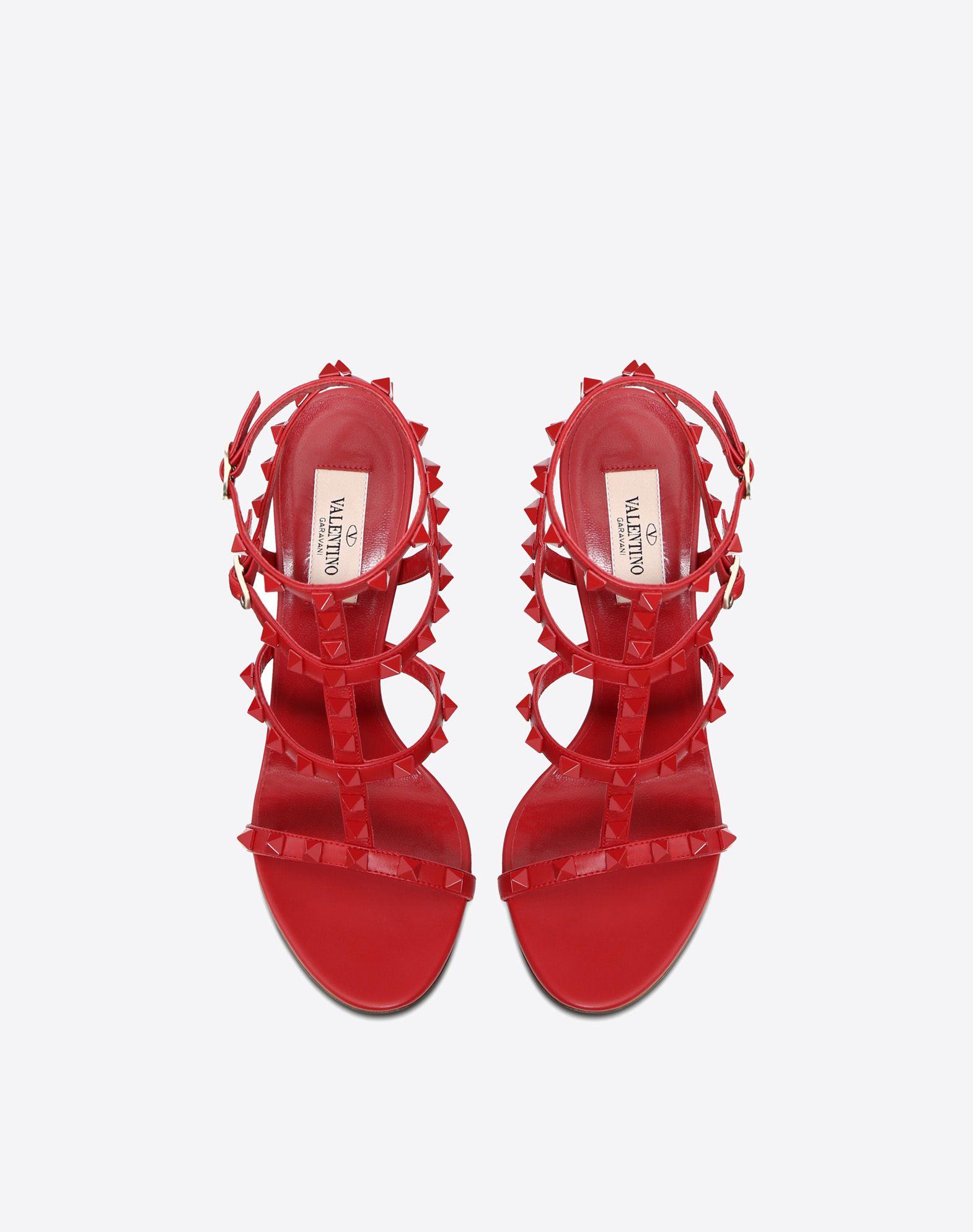 VALENTINO GARAVANI Rockstud Sandal HIGH HEEL SANDALS D e