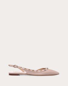 VALENTINO GARAVANI Ballerina D Rockstud Slingback Ballet Flat  f