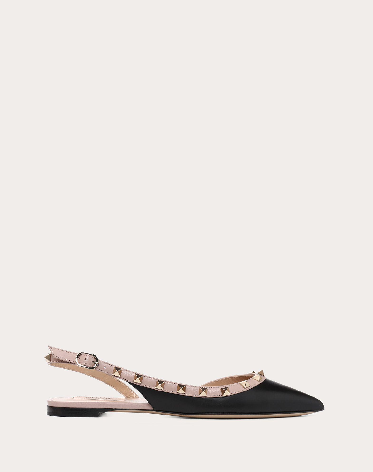 VALENTINO Studs Narrow toeline Leather sole Buckle  11470572hf