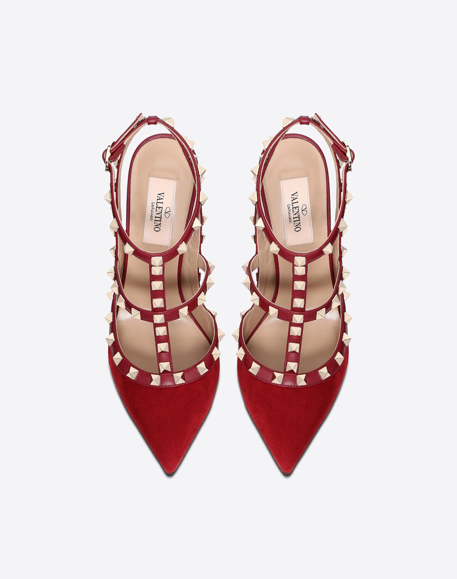 VALENTINO GARAVANI Rockstud Court HIGH HEEL PUMPS D e
