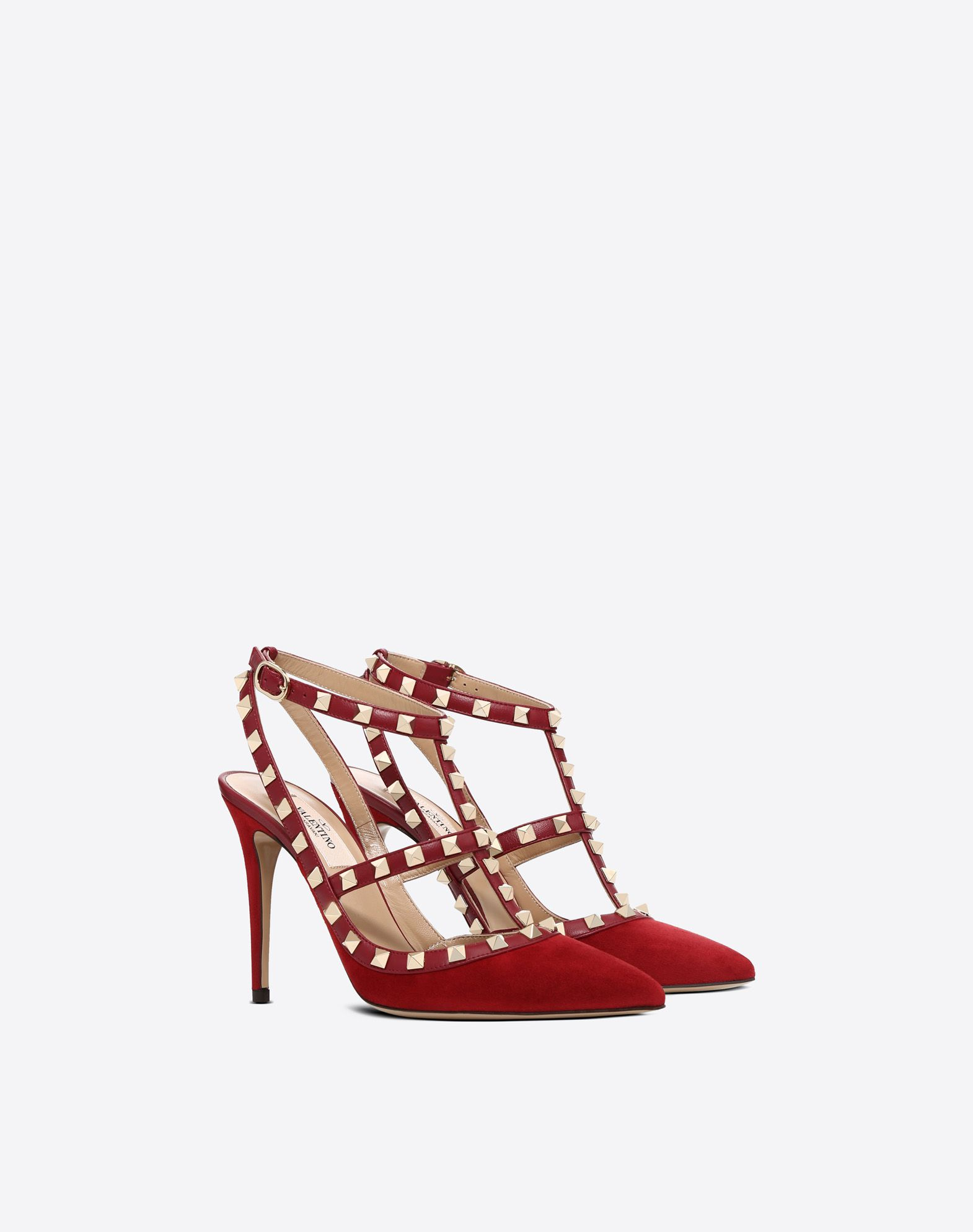VALENTINO GARAVANI Rockstud Court HIGH HEEL PUMPS D r