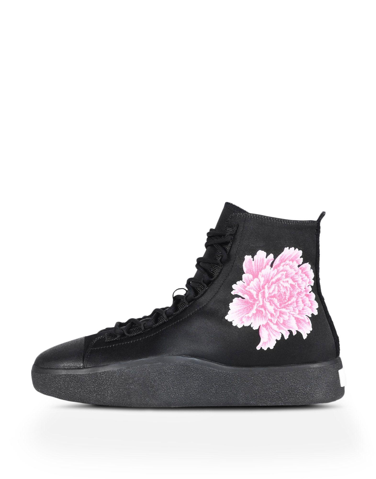 Y-3 Bashyo Floral Hi-Top Sneakers