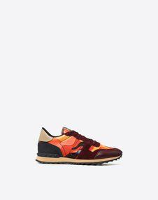 VALENTINO GARAVANI UOMO LOW-TOP SNEAKERS U Sneaker Rockrunner Camouflage f