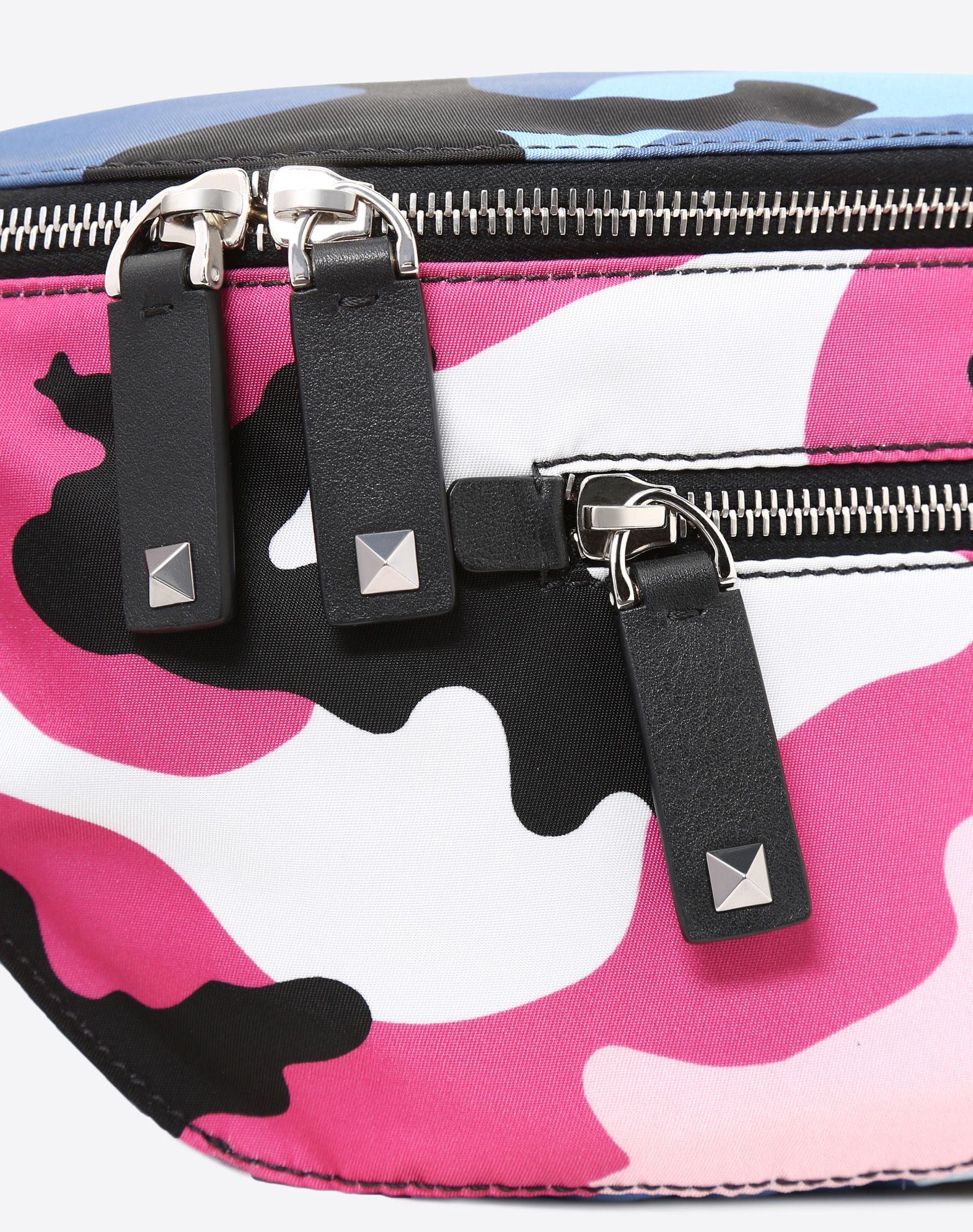 VALENTINO GARAVANI UOMO Camoushuffle belt bag FANNY PACK U b