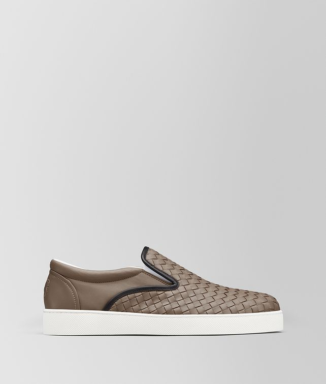 BOTTEGA VENETA SNEAKER DODGER IN INTRECCIATO NAPPA LIMESTONE Sneakers [*** pickupInStoreShippingNotGuaranteed_info ***] fp