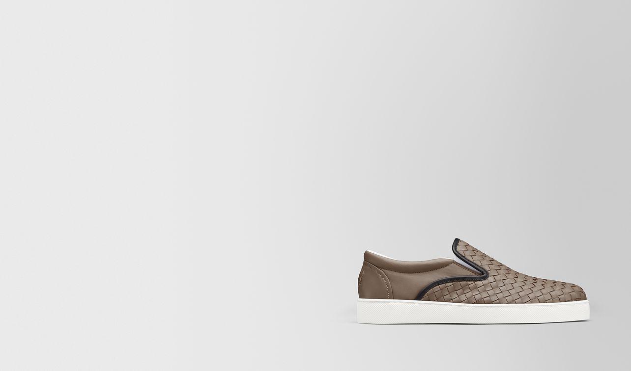 limestone intrecciato nappa dodger sneaker landing