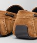 BOTTEGA VENETA CAMEL INTRECCIATO SUEDE WAVE DRIVER Mocassin or Slipper Man ap