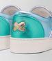 sneaker dodger in intrecciato nappa lamé multicolor Immagine dettaglio anteriore
