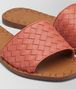 hibiscus intrecciato nappa ravello sandal Front Detail Portrait