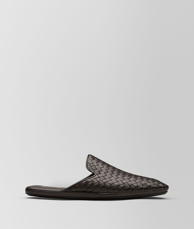 BOTTEGA VENETA ESPRESSO INTRECCIATO CALF FIANDRA SLIPPER Mocassin or Slipper [*** pickupInStoreShippingNotGuaranteed_info ***] fp
