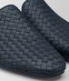 denim intrecciato calf fiandra slipper Front Detail Portrait
