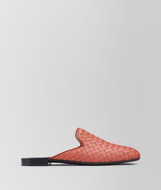木槿花红编织小羊皮FIANDRA便鞋