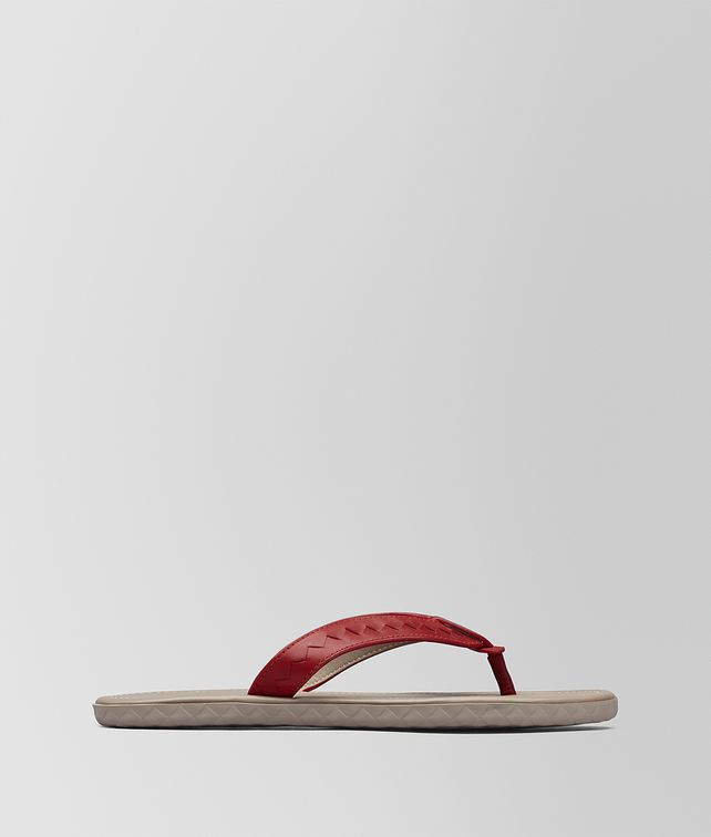 BOTTEGA VENETA CHINA RED CALF PLAGE THONG Sandals [*** pickupInStoreShippingNotGuaranteed_info ***] fp