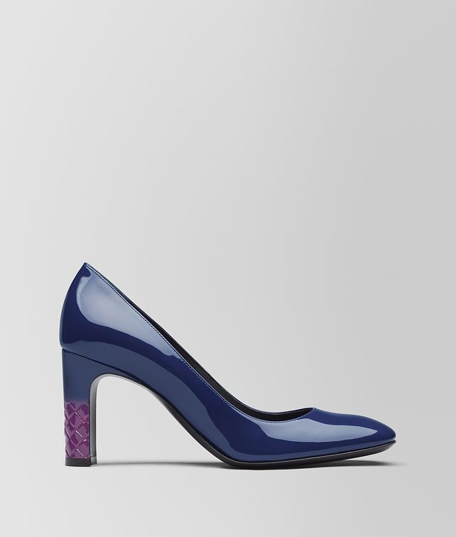 BOTTEGA VENETA ATLANTIC PATENT CALF ISABELLA PUMP Pump [*** pickupInStoreShipping_info ***] fp