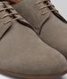 BOTTEGA VENETA LIMESTONE SUEDE BV SUNDAY SHOE Lace Up Man ap