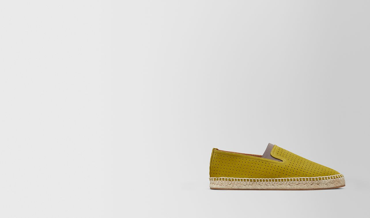 chamomile suede gala espadrille landing