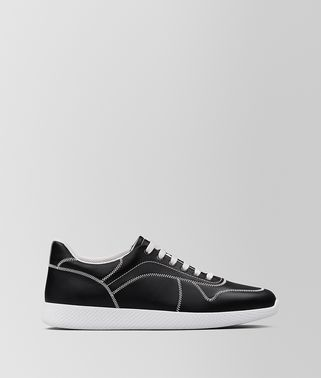 SNEAKER BV LITHE IN VITELLO NERO