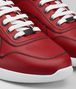 BOTTEGA VENETA BV LITHE SNEAKER AUS KALBSLEDER IN CHINA RED Sneaker Herren ap