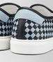 nero/arctic calf bv checker slip-on Front Detail Portrait